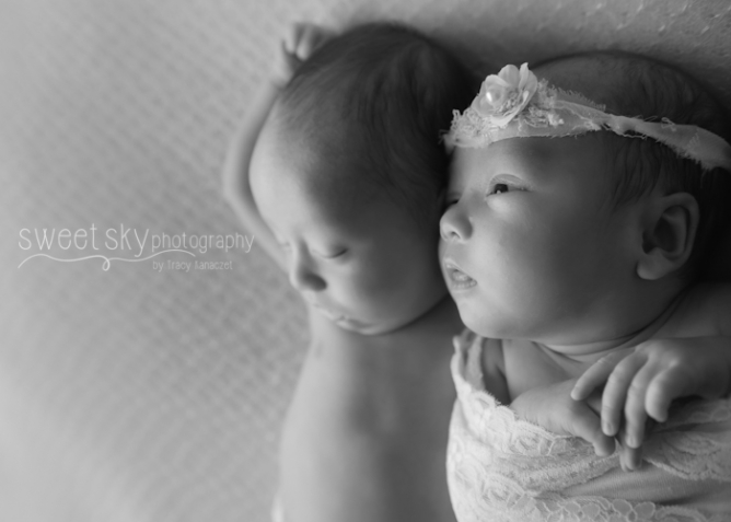 Atlanta Twin Newborn Photography