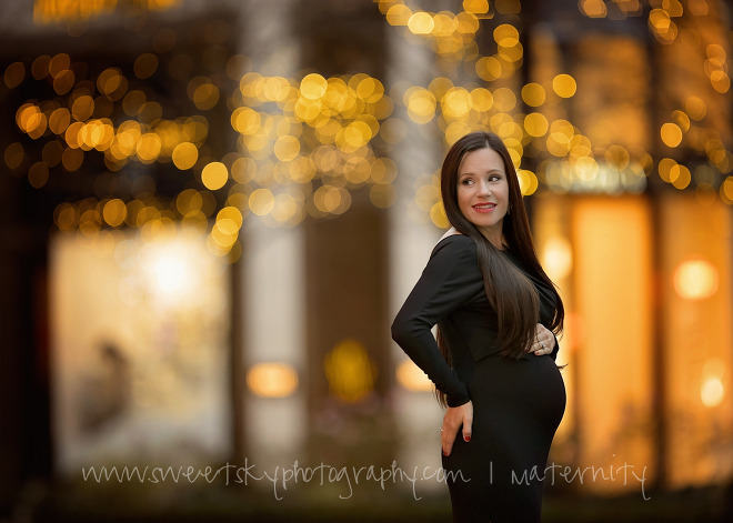 Elegant Maternity Session