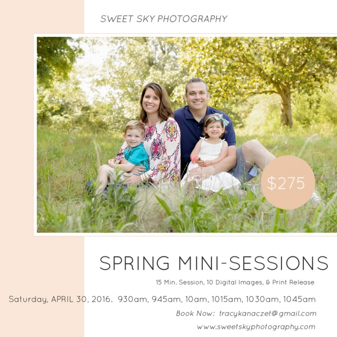 Atlanta Spring Mini Session