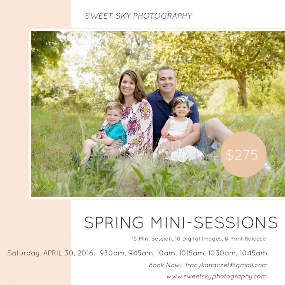 Atlanta Spring Mini Session